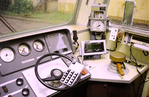 Local Train Control       Panel Equipped with TADS